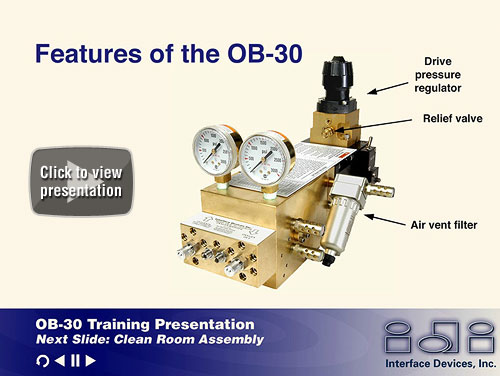 OB-30 Oxygen Booster Training Program